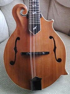 Redwood/Maple Mandolin by Bill Neat  USA twoneat@fuse.net