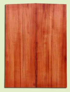 "RWMSB13907 - Redwood, Mandolin Arch Top Soundboard, Med. to Fine Grain Salvaged Old Growth, Excellent Color, Highly Resonant Mandolin Tonewood, Yields Superior Sound, 2 panels each 0.875"" x 6"" X 16"", S1S"