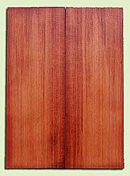 "RWMSB13925 - Redwood, Mandolin Arch Top Soundboard, Fine Grain Salvaged Old Growth, Excellent Color, Highly Resonant Mandolin Tonewood, Yields Superior Sound, 2 panels each 0.875"" x 6"" X 16"", S1S"