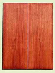 "RWMSB13932 - Redwood, Mandolin Arch Top Soundboard, Fine Grain Salvaged Old Growth, Excellent Color, Highly Resonant Mandolin Tonewood, Yields Superior Sound, 2 panels each 0.875"" x 6"" X 16"", S1S"
