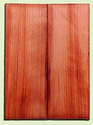 "RWMSB13933 - Redwood, Mandolin Arch Top Soundboard, Fine Grain Salvaged Old Growth, Excellent Color, Highly Resonant Mandolin Tonewood, Yields Superior Sound, 2 panels each 0.875"" x 6"" X 16"", S1S"