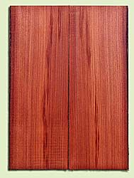 "RWMSB13946 - Redwood, Mandolin Arch Top Soundboard, Fine Grain Salvaged Old Growth, Excellent Color, Highly Resonant Mandolin Tonewood, Yields Superior Sound, 2 panels each 0.875"" x 6"" X 16"", S1S"