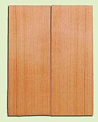 "DFMSB14030 - Douglas Fir, Mandolin Flat top Soundboard, Med. to Fine Grain, Excellent Color, Highly Resonant Mandolin Tonewood, Yields Amazing Sound, 2 panels each 0.19"" x 6"" X 16"", S1S"