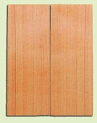 "DFMSB14031 - Douglas Fir, Mandolin Flat top Soundboard, Med. to Fine Grain, Excellent Color, Highly Resonant Mandolin Tonewood, Yields Amazing Sound, 2 panels each 0.19"" x 6"" X 16"", S1S"