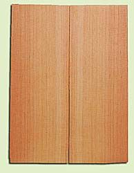 "DFMSB14034 - Douglas Fir, Mandolin Flat top Soundboard, Med. to Fine Grain, Excellent Color, Highly Resonant Mandolin Tonewood, Yields Amazing Sound, 2 panels each 0.19"" x 6"" X 16"", S1S"