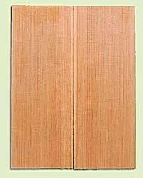 "DFMSB14038 - Douglas Fir, Mandolin Flat top Soundboard, Med. to Fine Grain, Excellent Color, Highly Resonant Mandolin Tonewood, Yields Amazing Sound, 2 panels each 0.19"" x 6"" X 16"", S1S"