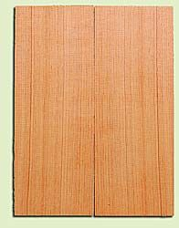 "DFMSB14044 - Douglas Fir, Mandolin Flat top Soundboard, Fine Grain, Excellent Color, Highly Resonant Mandolin Tonewood, Yields Amazing Sound, 2 panels each 0.19"" x 6"" X 16"", S1S"