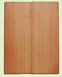 "DFMSB14062 - Douglas Fir, Mandolin Arch Top Soundboard, Med. to Fine Grain, Excellent Color, Highly ResonantMandolin Tonewood, Yields Amazing Sound, 2 panels each 0.875"" x 6"" X 16"", S1S"