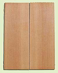 "DFMSB14066 - Douglas Fir, Mandolin Arch Top Soundboard, Med. to Fine Grain, Excellent Color, Highly ResonantMandolin Tonewood, Yields Amazing Sound, 2 panels each 0.875"" x 6"" X 16"", S1S"