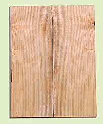"CDMSB14149 - Port Orford Cedar, Mandolin Flat Top Soundboard, Wide to Medium Grain, Excellent Color, Highly ResonantMandolin Tonewood, Yields Amazing Sound & Projection, 2 panels each 0.19"" x 6"" X 16"", S1S"