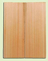 """CDMSB14156 - Port Orford Cedar, Mandolin Flat Top Soundboard, Med. to Fine Grain, Excellent Color, Highly ResonantMandolin Tonewood, Yields Amazing Sound & Projection, 2 panels each 0.17"""" x 6"""" X 16"""", S1S"""