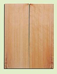 """CDMSB14161 - Port Orford Cedar, Mandolin Flat Top Soundboard, Med. to Fine Grain, Excellent Color, Highly ResonantMandolin Tonewood, Yields Amazing Sound & Projection, 2 panels each 0.17"""" x 6"""" X 16"""", S1S"""
