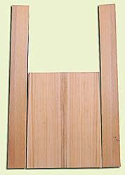 """CDMS14168 - Port Orford Cedar, Mandolin Flat Top Back & Side Set, Wide Grain but Amazing Stiffness, Excellent Color, Highly ResonantMandolin Tonewood, Yields Amazing Sound & Projection, 2 panels each 0.19"""" x 6"""" X 16"""", S1S, and 2 panels each 0.18"""" x 2.75"""""""