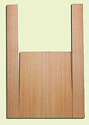 """CDMS14172 - Port Orford Cedar, Mandolin Flat Top Back & Side Set, Medium to Fine Grain with Amazing Stiffness, Excellent Color, Highly ResonantMandolin Tonewood, Yields Amazing Sound & Projection, 2 panels each 0.19"""" x 6"""" X 16"""", S1S, and 2 panels each 0."""