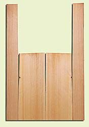 """CDMS14174 - Port Orford Cedar, Mandolin Flat Top Back & Side Set, Medium to Fine Grain with Amazing Stiffness, Excellent Color, Highly ResonantMandolin Tonewood, Yields Amazing Sound & Projection, 2 panels each 0.19"""" x 6"""" X 16"""", S1S, and 2 panels each 0."""