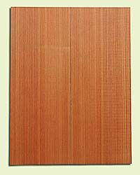 """RCMSB14211 - Western Redcedar, Mandolin Flat Top Soundboard Set, Med. Grain Salvaged Old Growth, Excellent Color, Amazingly Resonant, Rings Like Fine Crystal, 2 panels each 0.2"""" x 6"""" X 16"""", S1S"""