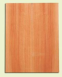 """RCMSB14214 - Western Redcedar, Mandolin Flat Top Soundboard Set, Med. Grain Salvaged Old Growth, Excellent Color, Amazingly Resonant, Rings Like Fine Crystal, 2 panels each 0.2"""" x 6"""" X 16"""", S1S"""