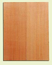 """RCMSB14226 - Western Redcedar, Mandolin Flat Top Soundboard Set, Med. to Fine Grain Salvaged Old Growth, Excellent Color, Amazingly Resonant, Rings Like Fine Crystal, 2 panels each 0.2"""" x 6"""" X 16"""", S1S"""