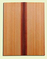 """RCMSB14231 - Western Redcedar, Mandolin Flat Top Soundboard Set, Med. to Fine Grain Salvaged Old Growth, Excellent Color, Amazingly Resonant, Rings Like Fine Crystal, 2 panels each 0.2"""" x 6"""" X 16"""", S1S"""