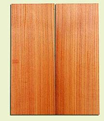 """RCMSB14253 - Western Redcedar, Mandolin Flat Top Soundboard Set, Very Fine Grain Salvaged Old Growth, Excellent Color, Amazingly Resonant, Rings Like Fine Crystal, 2 panels each 0.18"""" x 6"""" X 16"""", S1S"""