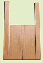 """CDMS14315 - Port Orford Cedar, Mandolin Flat Top Back & Side Set, Medium to Fine Grain Salvaged Old Growth, Excellent Color, OutstandingLuthier Tonewood, Makes Amazing Sounding Mandolins, 2 panels each 0.2"""" x 6"""" X 16"""", S1S, and 2 panels each 0.2"""" x 2.25"""""""