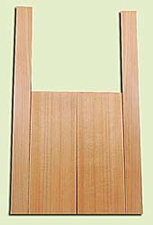 """CDMS14316 - Port Orford Cedar, Mandolin Flat Top Back & Side Set, Medium to Fine Grain Salvaged Old Growth, Excellent Color, OutstandingLuthier Tonewood, Makes Amazing Sounding Mandolins, 2 panels each 0.2"""" x 6"""" X 16"""", S1S, and 2 panels each 0.2"""" x 2.25"""""""
