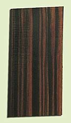 "EBMHS15043 - Macassar Ebony, Mandolin Head Plate, Hi Color Contrast, Rare Tonewood, Adds Pizzazz, Multiples Available, 1 panel each 0.15"" x 4"" X 8"""