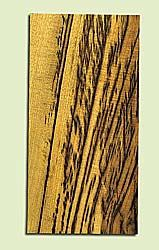 "MYMHS15046 - Tiger Stripe Myrtlewood, Mandolin Head Plate, Salvaged Old Growth, Amazing Color, Adds Pizzazz, Multiples Available, 1 panel each 0.2"" x 4"" X 8"""