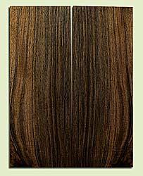 "WAMSB15686 - Claro Walnut, Mandolin Flat top Soundboard, Quarter Sawn, Excellent Color& Contrast, GreatMandolin Wood, 2 panels each 0.18"" x 6"" X 16"", S1S"
