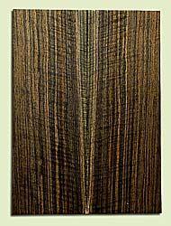 "WAMSB15700 - Claro Walnut, Mandolin Flat top Soundboard, Quarter Sawn, Excellent Color& Curl, GreatMandolin Tonewood, 2 panels each 0.18"" x 6"" X 16"", S1S"