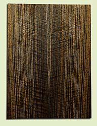 "WAMSB15702 - Claro Walnut, Mandolin Flat top Soundboard, Quarter Sawn, Excellent Color& Curl, GreatMandolin Tonewood, 2 panels each 0.18"" x 6"" X 16"", S1S"