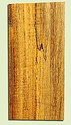 "MYMHS16877 - Figured, Spalted Myrtlewood, Mandolin Headstock Plate, Air Dried, Veru Good Color & Spalt, Adds Pazzazz, Multiples Available, each 0.15"" x 3.5"" X 7"""
